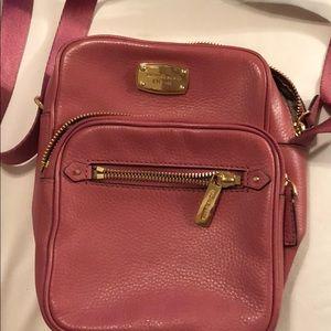Michael Kors Pink Cross Body or Shoulder purse